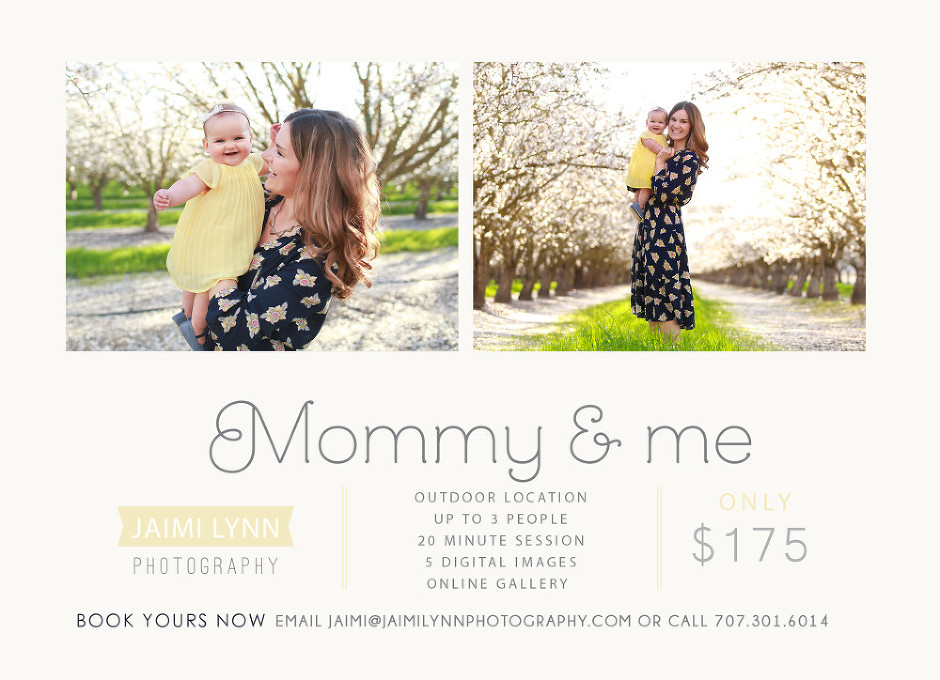 Mommy and Me Package